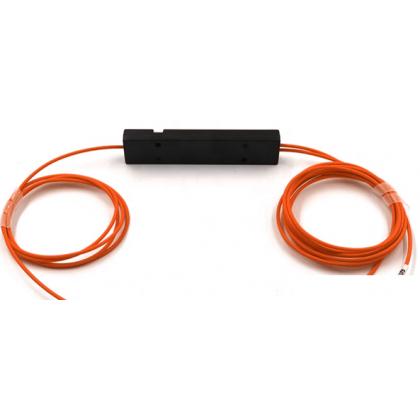 FBT-ММ50 Оптический сплиттер 1х2, модель 02, 850/1300 нм, 50:50%, 3 мм, 1 метр, без коннекторов