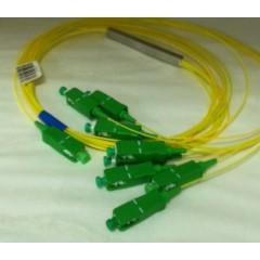 PLC разветвитель 1х2, 3 мм, 1 м, коннекторы на выбор