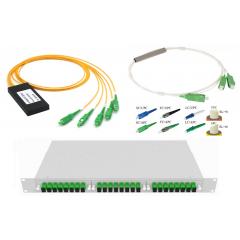 PLC Оптический разветвитель – выберите необходимые параметры