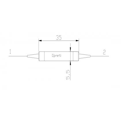 Волоконный поляризатор 976 нм