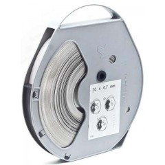 Лента монтажная Telenco 0,7х20 мм в кассете - 50м