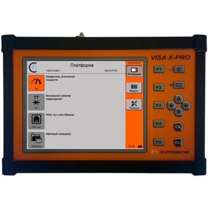 Рефлектометр VISA X-PRO Связьприбор 1310/1550 нм, 37/35 дБ