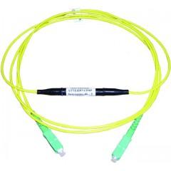 Волоконно-оптический аттенюатор с фиксированным вносимым затуханием (
