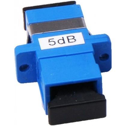 Волоконно-оптический аттенюатор SC-SC розетка-розетка фиксированный