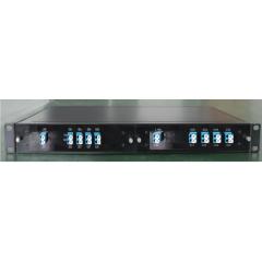 CWDM мультиплексор LGX стоечный 1U на 2 модуля LGX