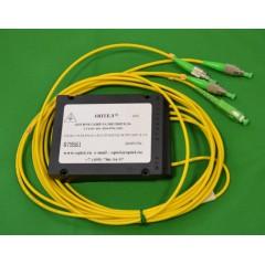 FBT-SM разветвитель 1х3, 1310/1550 мкм, деление на выбор, 3 мм, 1 м, коннекторы