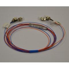 PLC разветвитель 2х2, FC/UPC, 1 м, базовая цена 1080 руб.