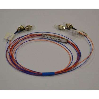 PLC разветвитель 2х2, коннекторы FC/UPC