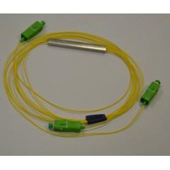 PLC разветвитель 1х2, 900 мкм, SC/APC, 1 м