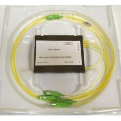 PLC разветвитель 1х16, пластик, 900 мкм, 1 м, SC/APC