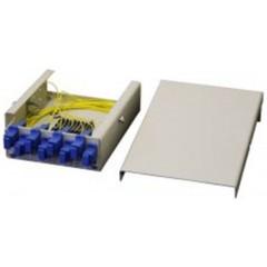 Миниатюрная настенная коробка ККО-530/8 SC,FC,ST,LC duplex (180х120х40)