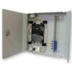 Настенная кроссовая коробка ККО-520/16 SC,FC,ST,LC duplex (360х360х65)