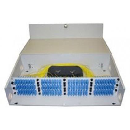 """Оптическая кроссовая панель 3U в стойку 19"""" ККО-330/96 SC,FC,ST,LC duplex (300х530х115)"""
