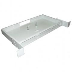 """Универсальная стоечная коробка со съемными панелями 19"""" ККО-300/1U на 24 порта (483х210х44мм)"""
