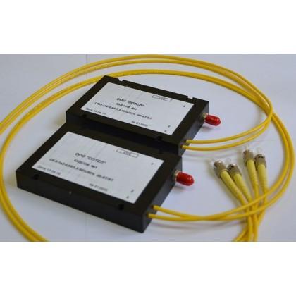 Комплект устройств для организации двусторонней связи по одному волоконному световоду (КУДСОВ)